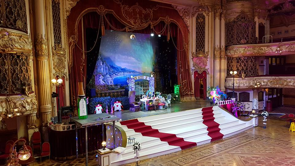 Mad Hatters Tea Party: Blackpool Tower